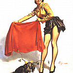 Gil Elvgren - GCGEPU-088_1953_Aw-Come_On