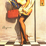 Gil Elvgren - GCGEPU-053_1969_Going_Up