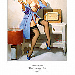 Gil Elvgren - PYG GE 042 The Wrong Nail 1967