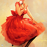 Gil Elvgren - ma Elvgren Meant for You