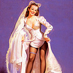 Gil Elvgren - ma Elvgren Something Borrowed Something Blue