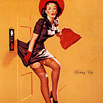 Gil Elvgren - ma Elvgren Going Up