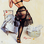 Gil Elvgren - ma Elvgren Just Right