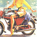Gil Elvgren - GCGEPU-142_1956_Skirting_the_Issue
