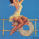 Gil Elvgren - tiger_pin-up_elvgren_025
