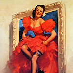 Gil Elvgren - ma Elvgren Stepping Out 2
