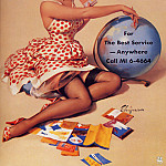 Gil Elvgren - ma Elvgren Out of this World