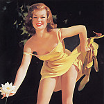 Gil Elvgren - ma Elvgren Well Picked
