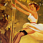 Gil Elvgren - ma Elvgren With the Greatest of Ease