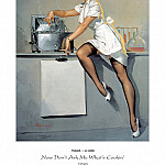 Gil Elvgren - PYG GE 029 Now Dont Ask Me Whats Cookin 1948