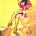 Gil Elvgren - GCGEPU-055_1953_Popular_Number