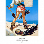 Gil Elvgren - PYG GE 054 Hidden Treasures 1954