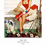 Gil Elvgren - PYG GE 016 Worth Cultivating A Nice Crop 1952