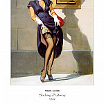 Gil Elvgren - PYG GE 043 Socking It Away Investments Should Be 1949