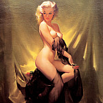 Gil Elvgren - ma Elvgren Golden Beauty