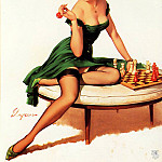 Gil Elvgren - ma Elvgren Your Move