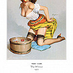 Gil Elvgren - PYG GE 058 The Winner A Fair Catch 1957