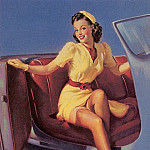 Gil Elvgren - tiger_pin-up_elvgren_009