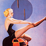 Gil Elvgren - ma Elvgren Out On A Limb