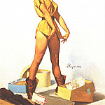 Gil Elvgren - GCGEPU-112_1965_Fit_to_Kill