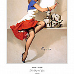 Gil Elvgren - PYG GE 057 Its Up to You 1958