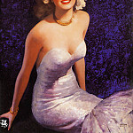 Gil Elvgren - ma Elvgren A Real Knock Down