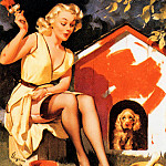 Gil Elvgren - ma Elvgren On the House