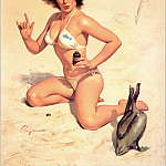 Gil Elvgren - Cos_015_Gil_Elvgren_Appreciative_Audience