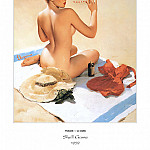 Gil Elvgren - PYG GE 062 Shell Game Shell Shocked 1959