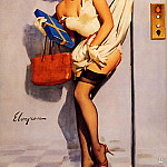 Gil Elvgren - ma Elvgren Going Up 2