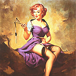 Gil Elvgren - GCGEPU-060_1958_Its_a_Snap