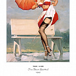 Gil Elvgren - PYG GE 010 Ive Been Spotted 1949