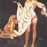 Gil Elvgren - GCGEPU-019_1948_Im_Just_Trying_It_for_Sighs