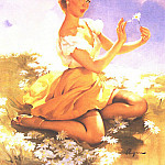 Джил Элвгрен - GCGEPU-124_1955_Daises_Are_Telling
