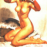 Gil Elvgren - GCGEPU-062_1948_Perfection
