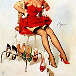 Gil Elvgren - ma Elvgren What Do You Think