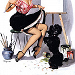 Gil Elvgren - Elvgren, Gil - Some Help (end