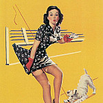 Gil Elvgren - tiger_pin-up_elvgren_012