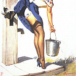 Gil Elvgren - GCGEPU-006_1952_Handle_With_Care