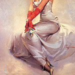 Gil Elvgren - ma Elvgren Beautiful Lady
