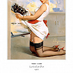 Gil Elvgren - PYG GE 037 Lets Eat Out 1967