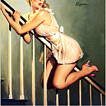 Gil Elvgren - Cos_027_Gil_Elvgren_Look_Out_Below