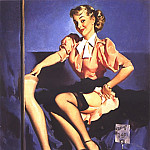 Gil Elvgren - GCGEPU-026_1953_A_Neat_Display