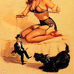 Gil Elvgren - ma Elvgren They Are Easy to Handle