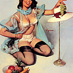 Gil Elvgren - ma Elvgren Your Modest Maneuver