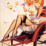 Gil Elvgren - Cos_002_Gil_Elvgren_Something_Bothering_You