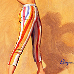 Gil Elvgren - ma Elvgren Swim Anyone