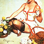 Gil Elvgren - GCGEPU-168_1964_Budding_Out