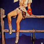 Gil Elvgren - ma Elvgren Aiming To Please