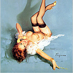Gil Elvgren - Cos_029_Gil_Elvgren_The_Right_Number